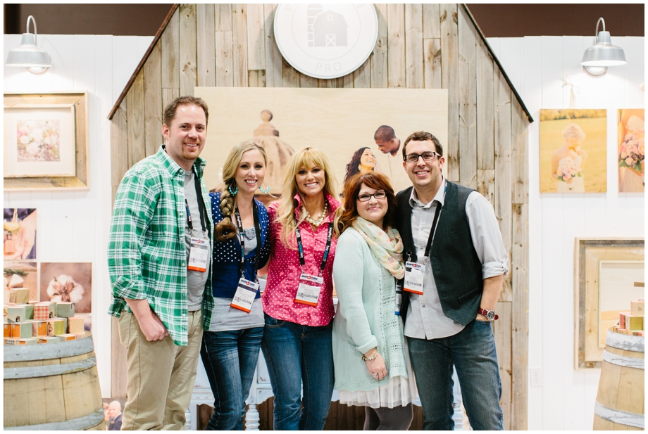 The PhotoBarn Pro team pictured alongside one of our favorite pros, the lovely Julie Paisley Photography! From L to R, Todd McCormick, Owner//CEO; Lindsay Hinckley McCormick, Owner//President; Meg Watters Prewitt, Director of Pro Relations; Julie Hinson Paisley, Pro-Photographer Extraordinaire :); Ben Finch, Creative Director.